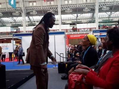 Levi Roots at The Business Show 2017