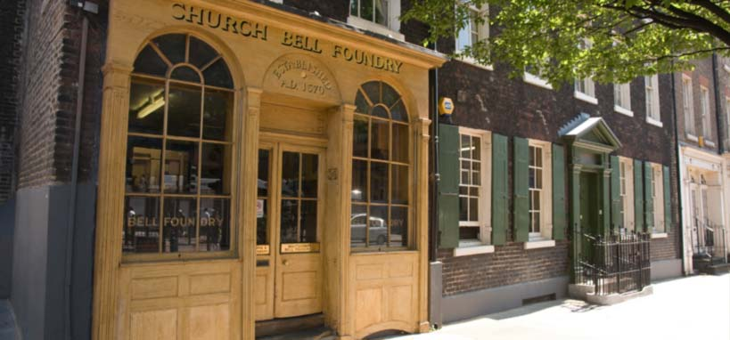 The Centuries-old Whitechapel Bell Foundry
